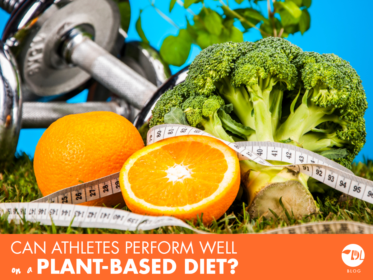 Can Athletes Perform On A Plant Based Diet Deliverlean