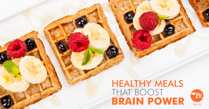 Brain boosting healthy meals