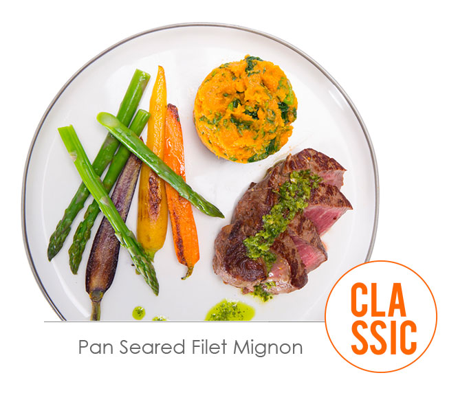 pan seared filet miganon