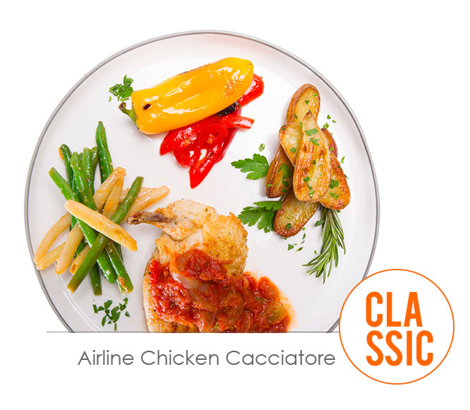 airline chicken cacciatore