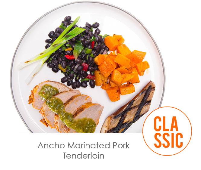 ancho marinated pork tenderloin