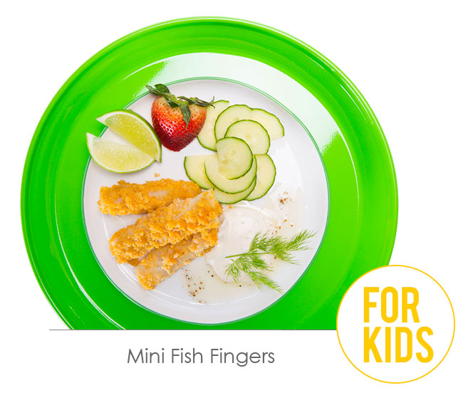 mini fish fingers