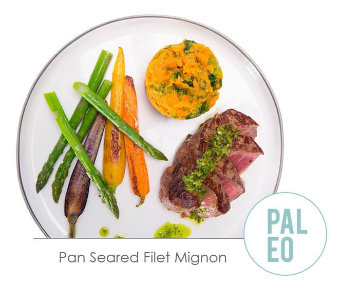 pan seared filet migon