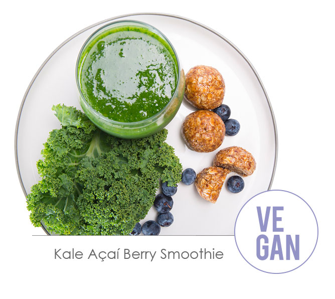 kale acai berry smoothie