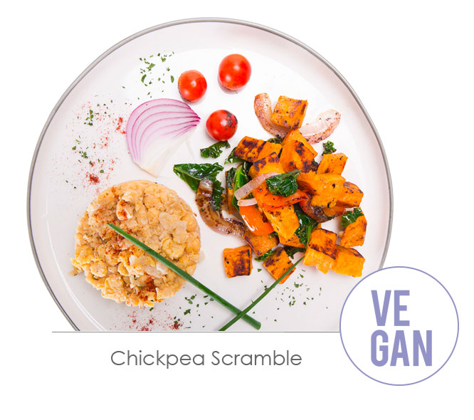 chickpea scramble